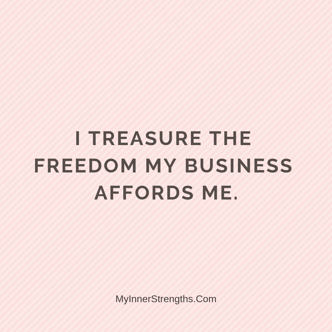 Affirmations for business owners 24 | My Inner Strengths