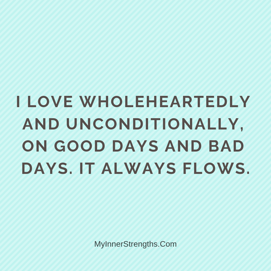 Love Affirmations 6 | My Inner Strengths