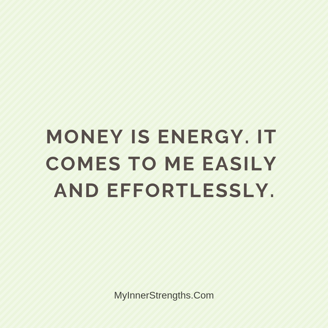 Wealth Affirmation Money 10 | My Inner Strengths