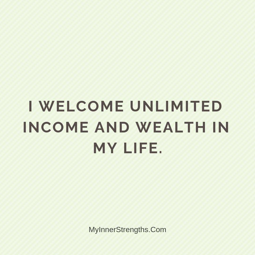 Wealth Affirmation Money 11 | My Inner Strengths