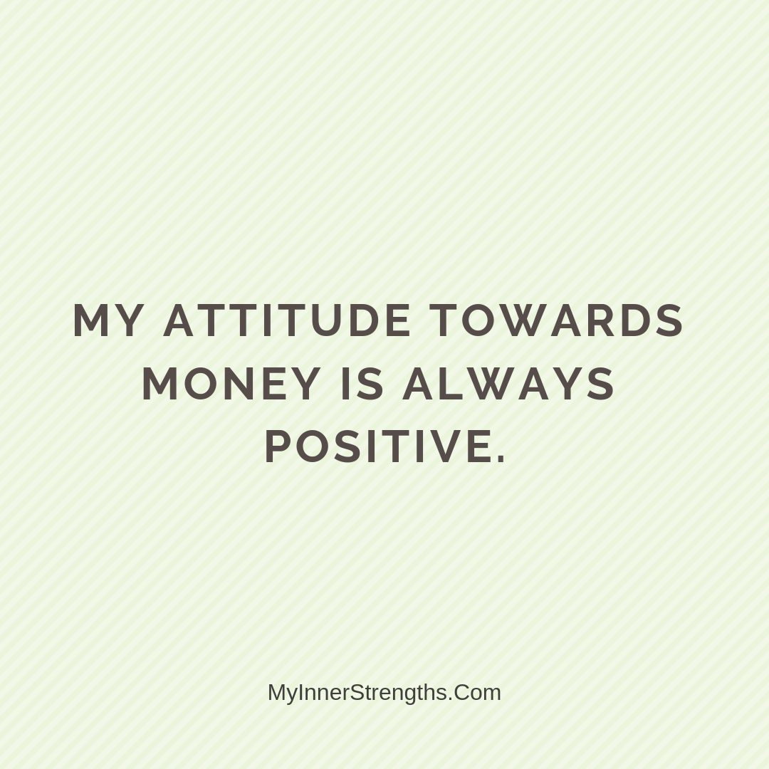 Wealth Affirmation Money 12 | My Inner Strengths