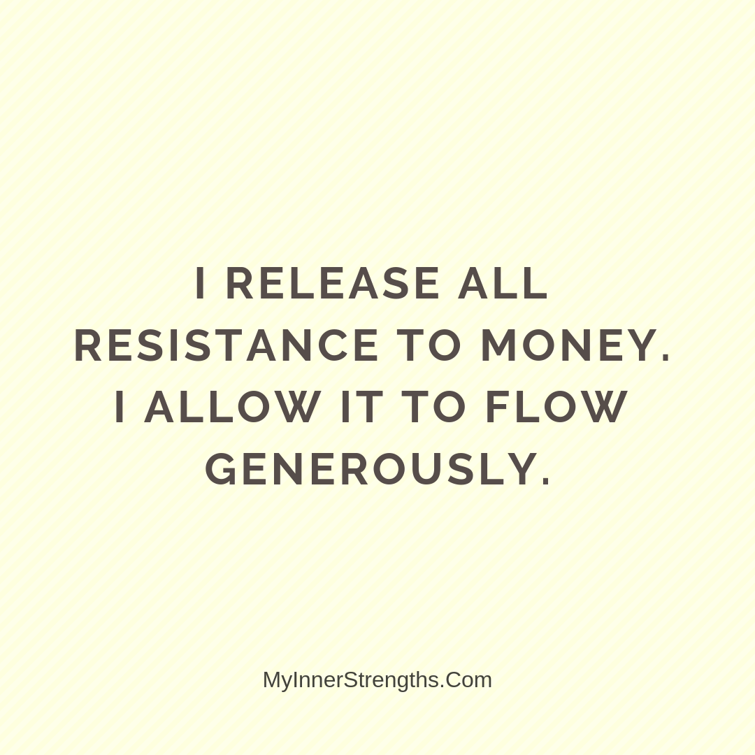 Wealth Affirmation Money 14 | My Inner Strengths