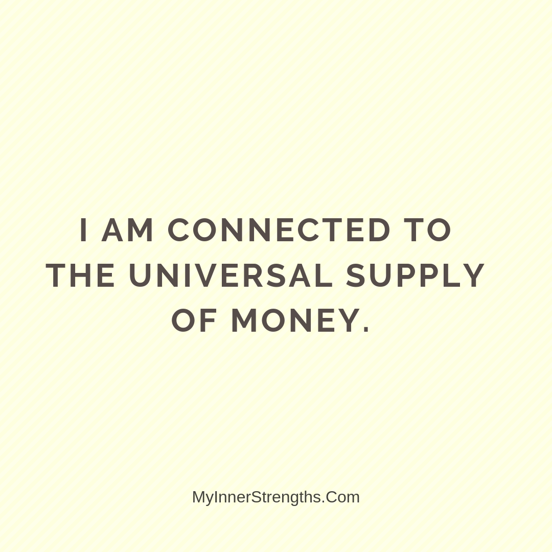 Wealth Affirmation Money 18 | My Inner Strengths