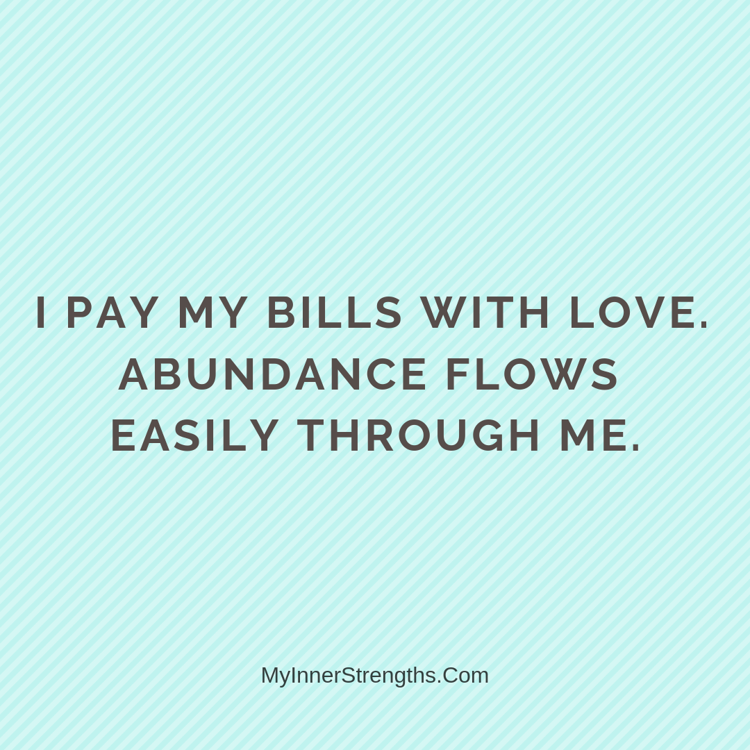 Wealth Affirmation Money 2 | My Inner Strengths