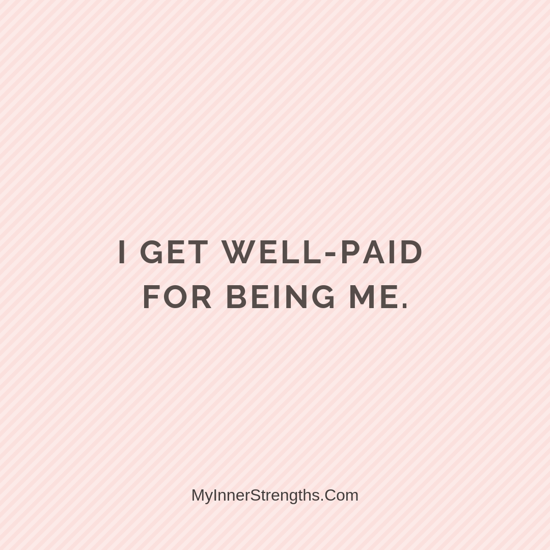 Wealth Affirmation Money 25 | My Inner Strengths