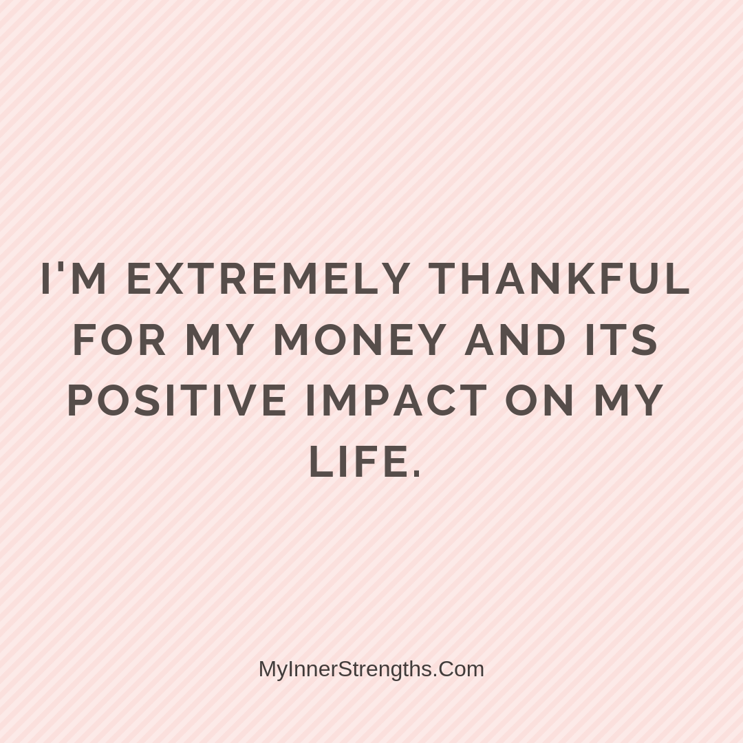 Wealth Affirmation Money 28 | My Inner Strengths