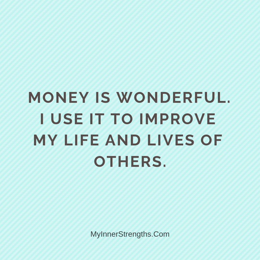 Wealth Affirmation Money 3 | My Inner Strengths