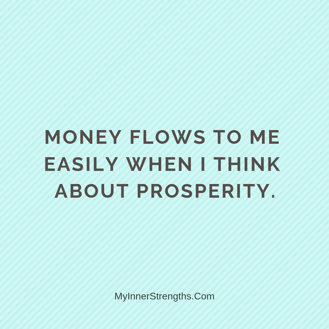 Wealth Affirmation Money 5 | My Inner Strengths