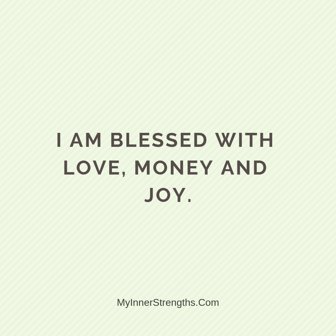 Wealth Affirmation Money 7 | My Inner Strengths
