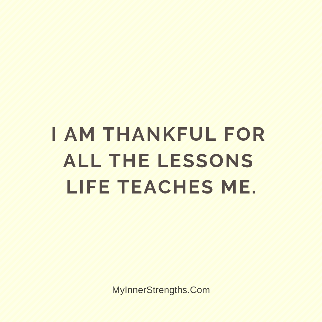 Gratitude Affirmations 16 | My Inner Strengths