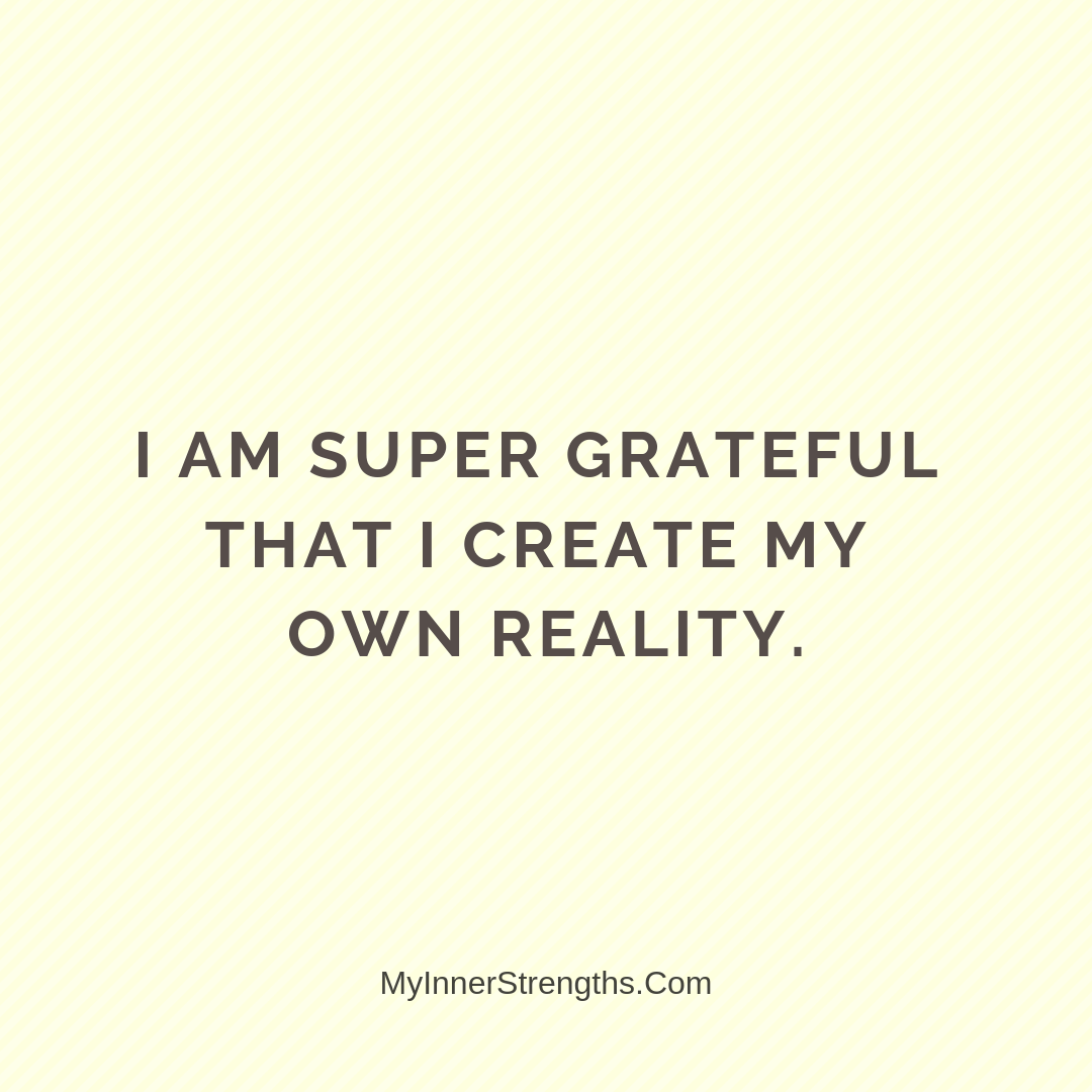 Gratitude Affirmations 17 | My Inner Strengths